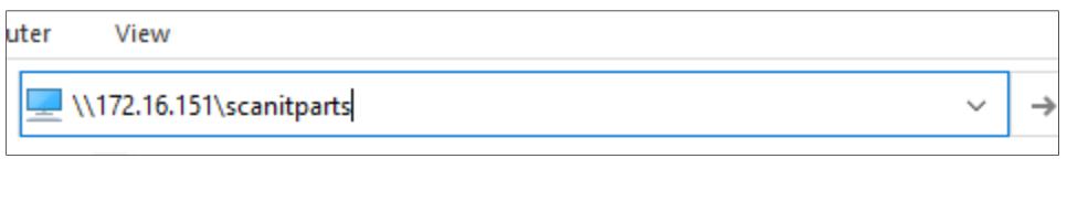Enter The Server IP address